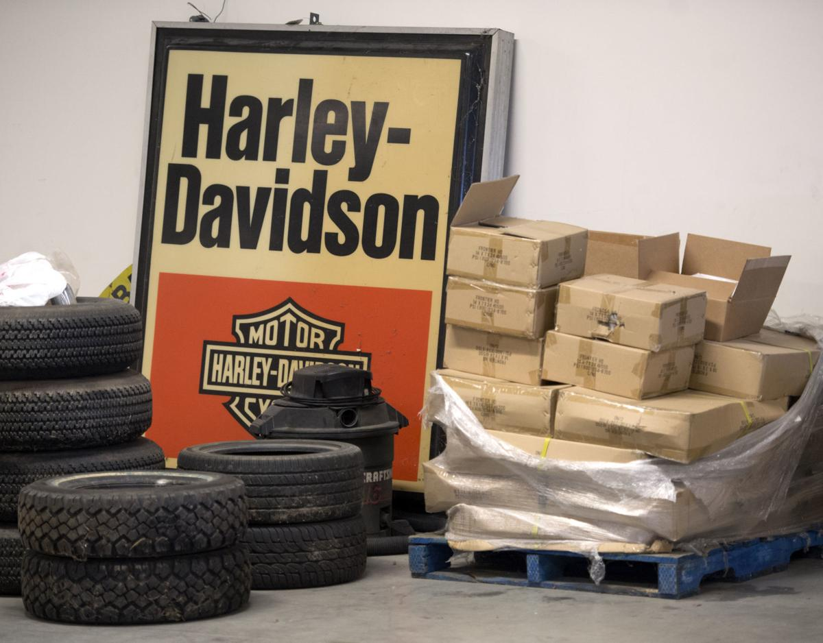 Every piece had a story' — for longtime Harley dealer, final