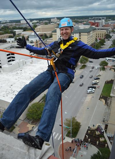 'Over the Edge' fundraiser for Heartland Big Brothers Big Sisters