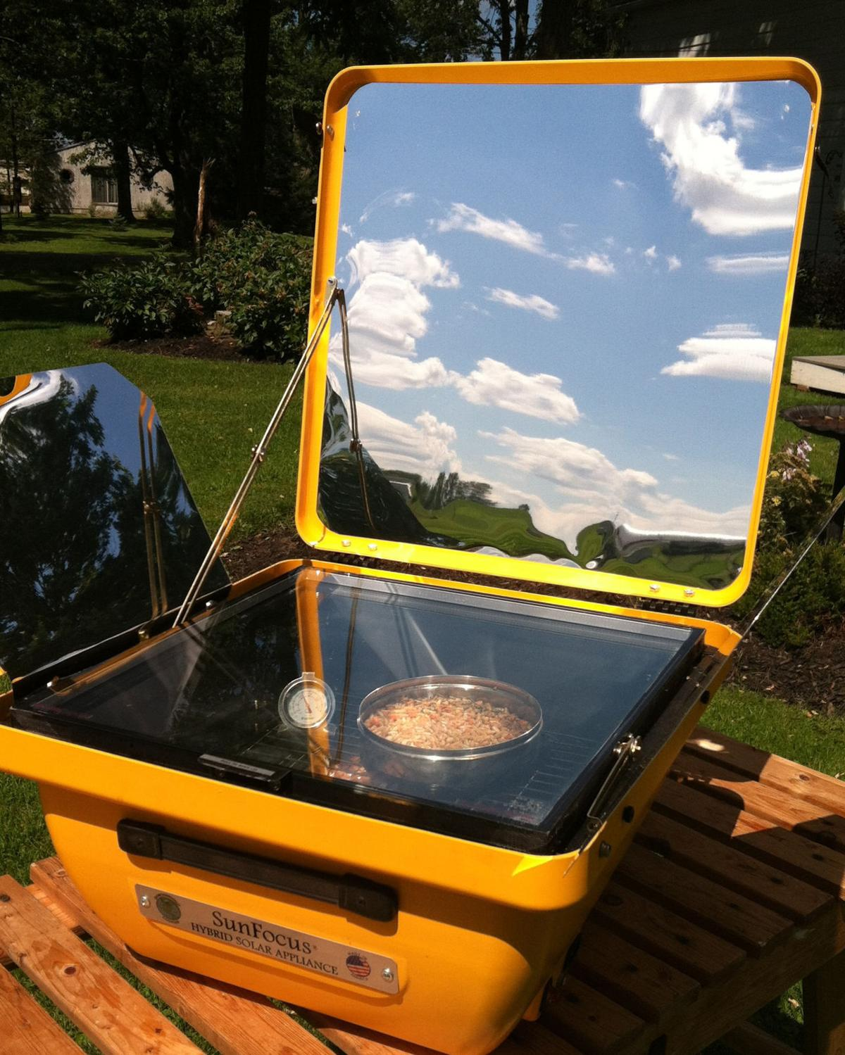 James Dulley Solar Cookers Really Do Work Home And