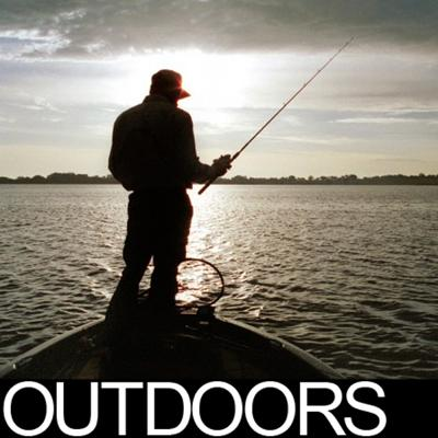 Outdoors logo fishing