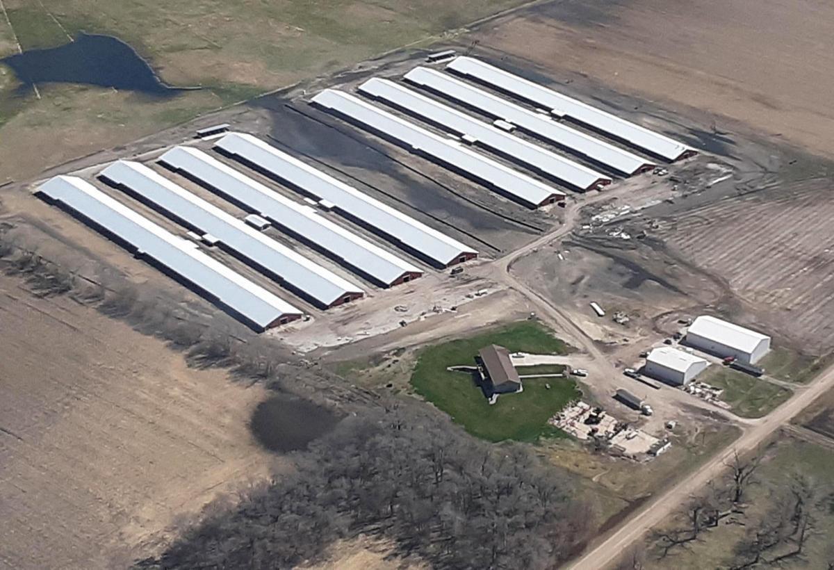 Butler County chicken farm