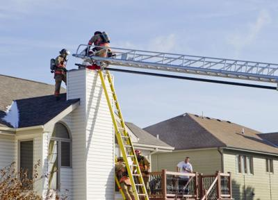 Chimney Fire Scorches Firefighters Home Crime And Courts
