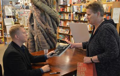 Robber's Cave book signing