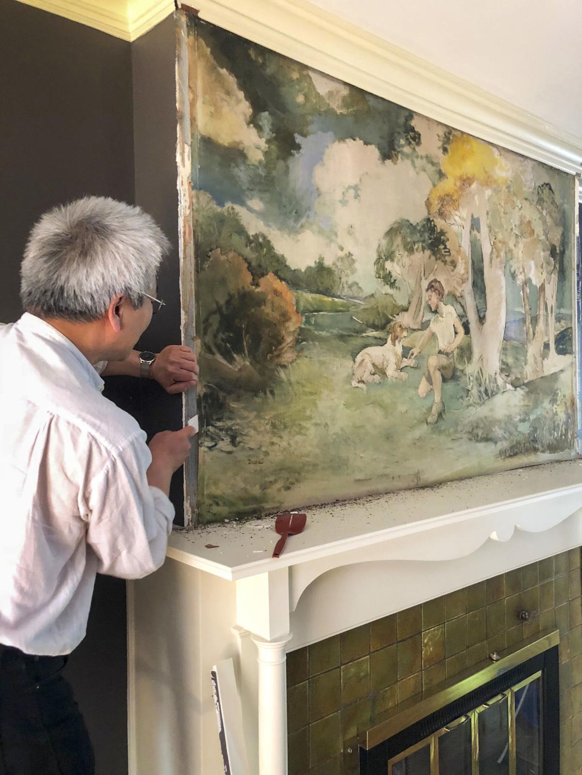 Elizabeth Dolan painting
