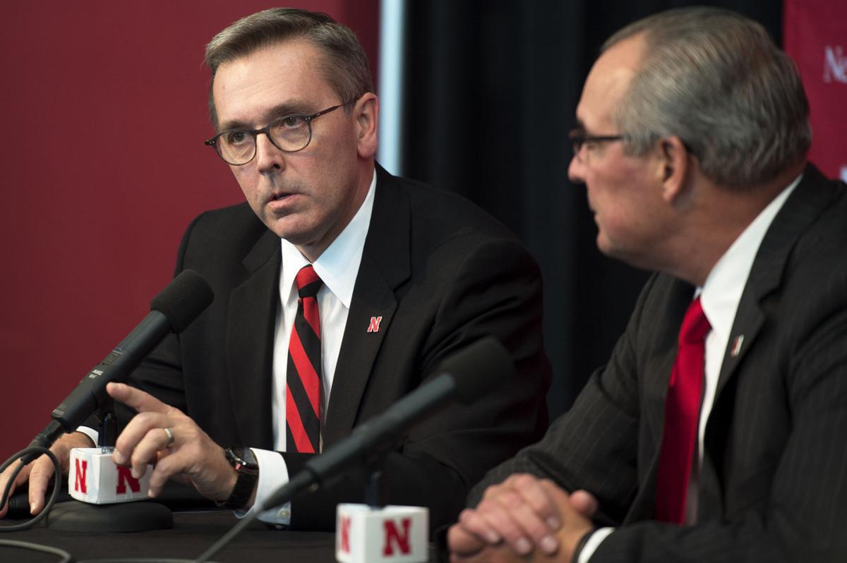 Nebraska Athletic Director, 10.15.2017