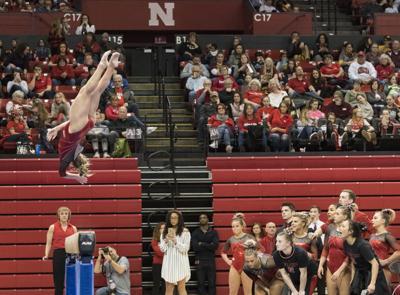 Minnesota at Nebraska women's gymnastics, 2/3/18