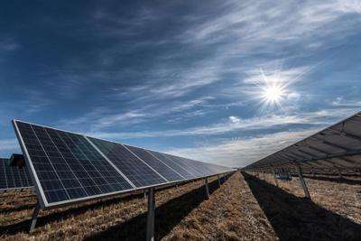 LES solar panels