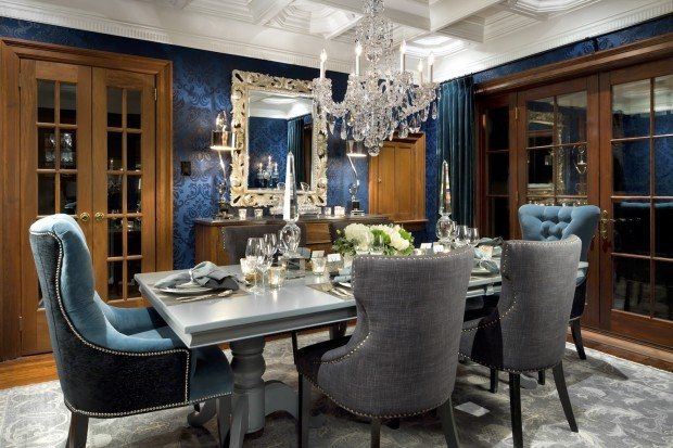 candice olson dining room gets dressed up home and garden rh journalstar com  candice olson dining room designs