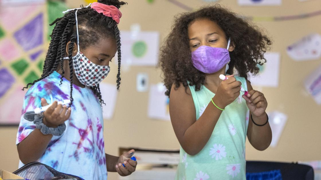 The complexities of containing a pandemic with masks in schools