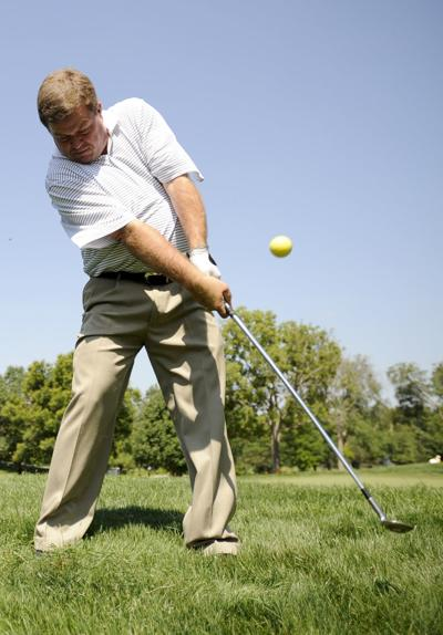 Dave Malone demonstrates chipping