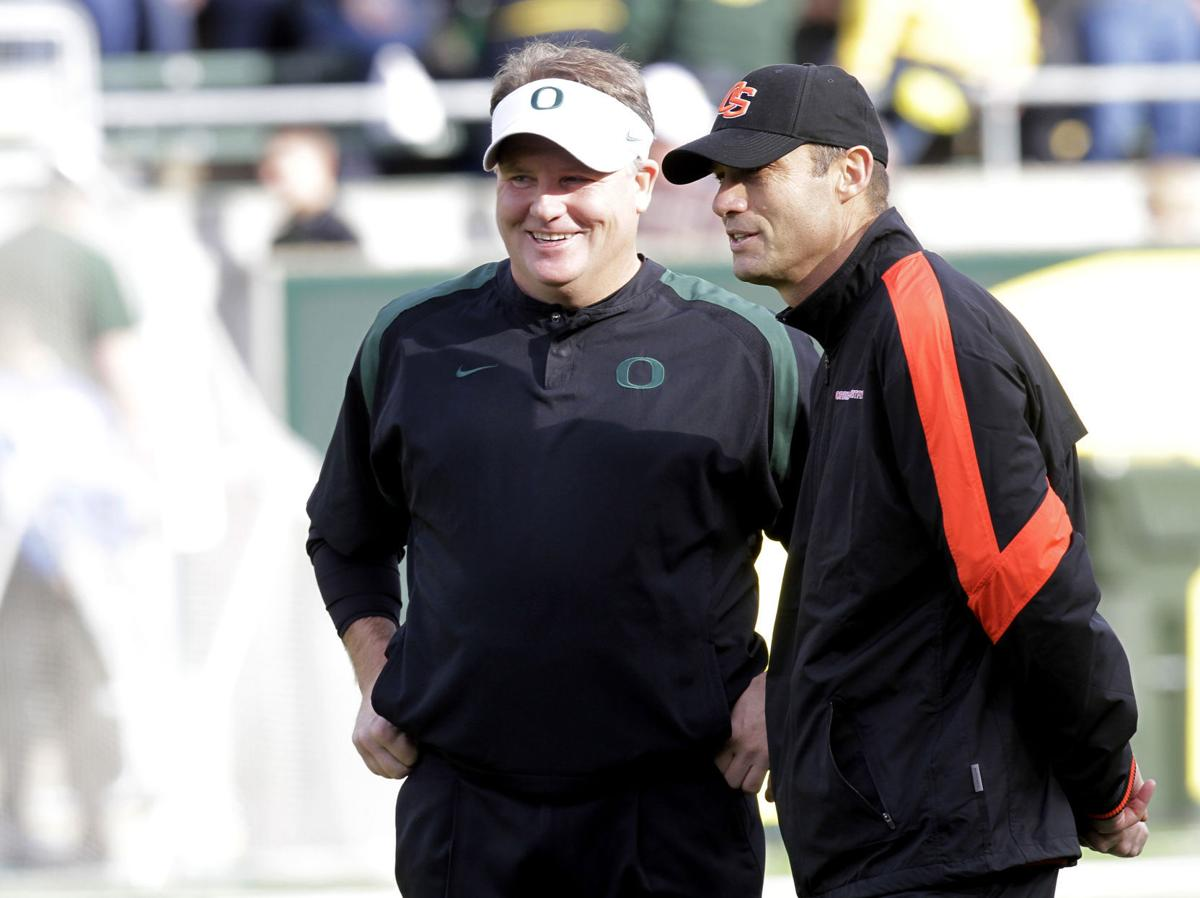 Chip Kelly, Mike Riley
