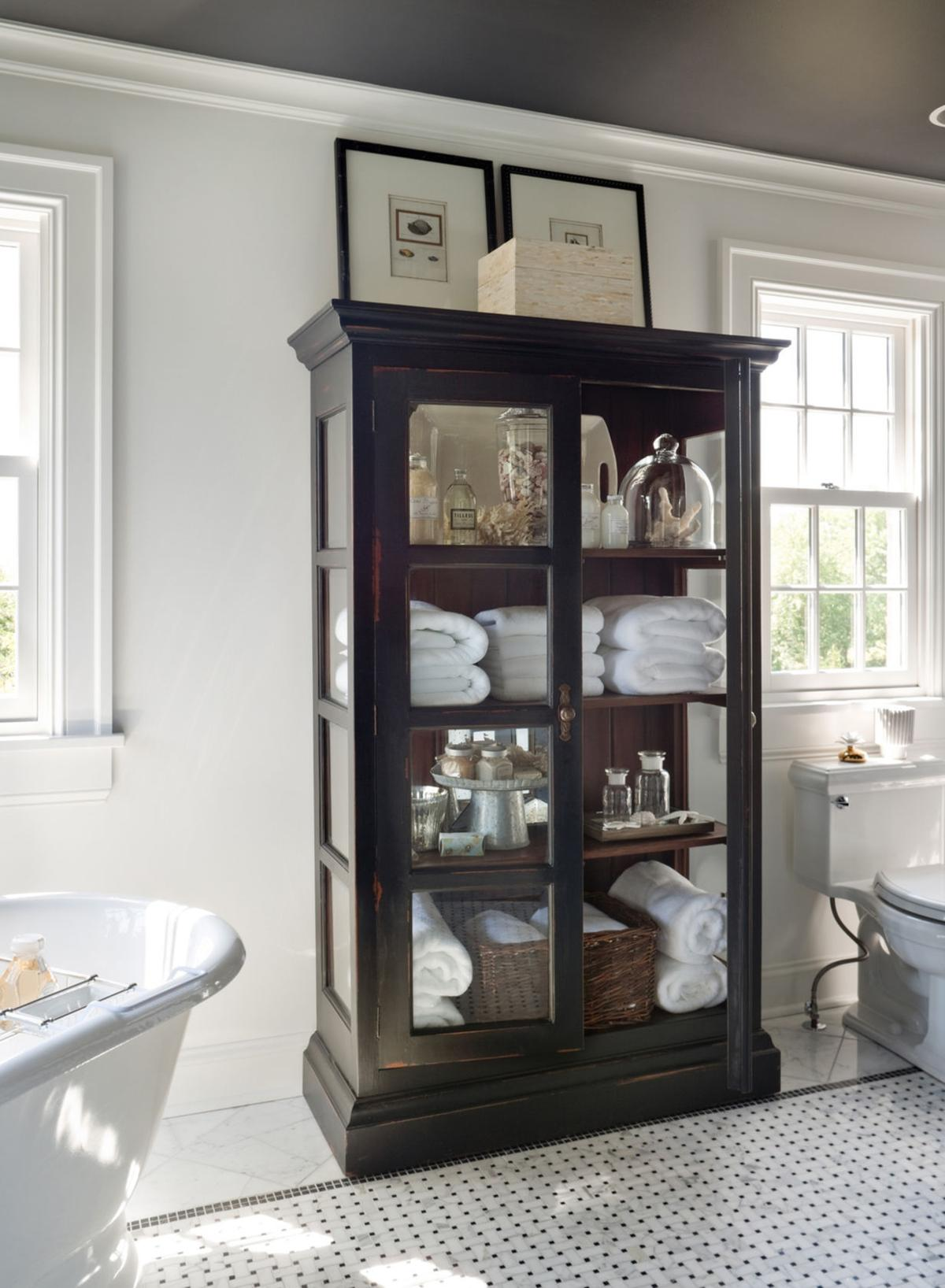 Mary Carol Garrity Tips For Styling A Cabinet Home And
