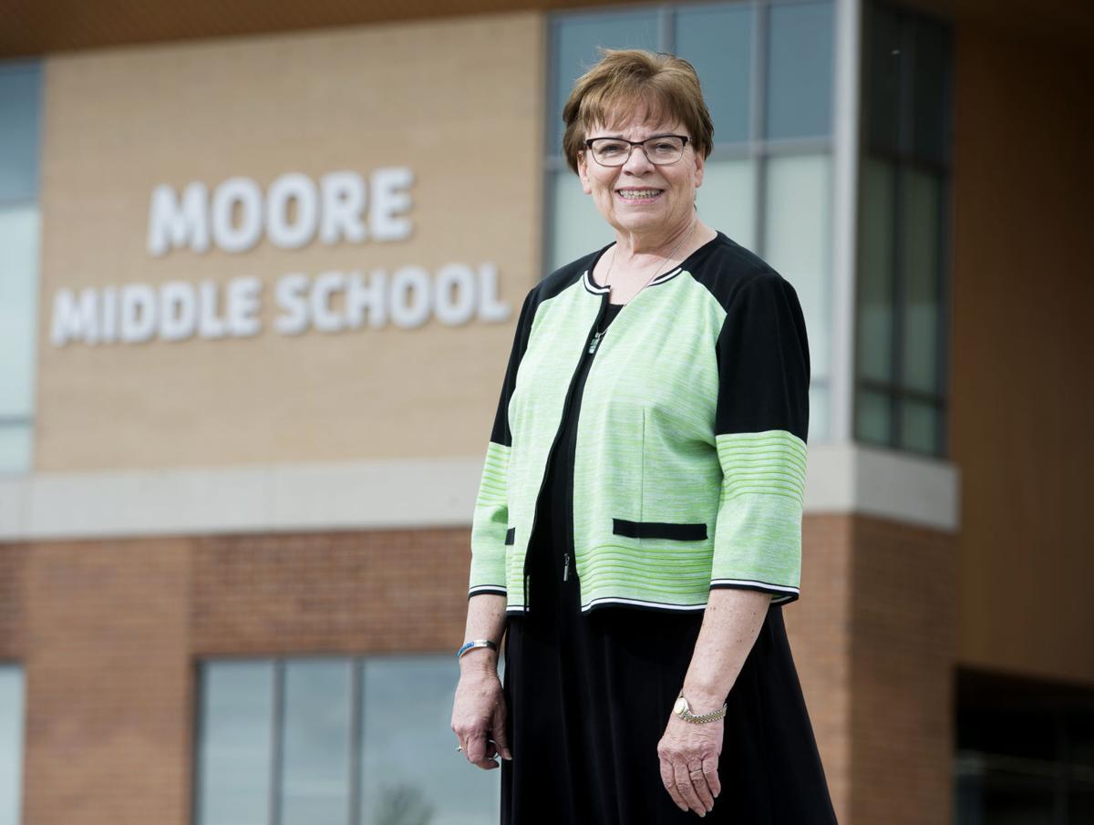 Marilyn Moore, Moore Middle School