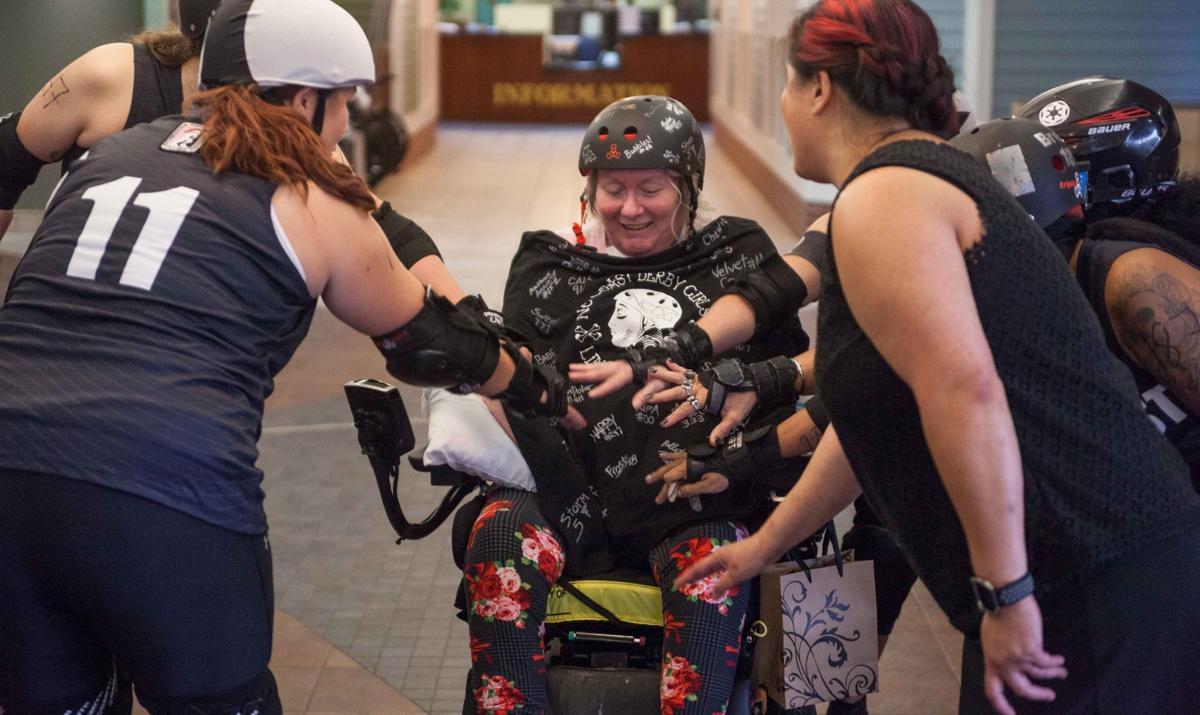 Roller Derby Madonna visit