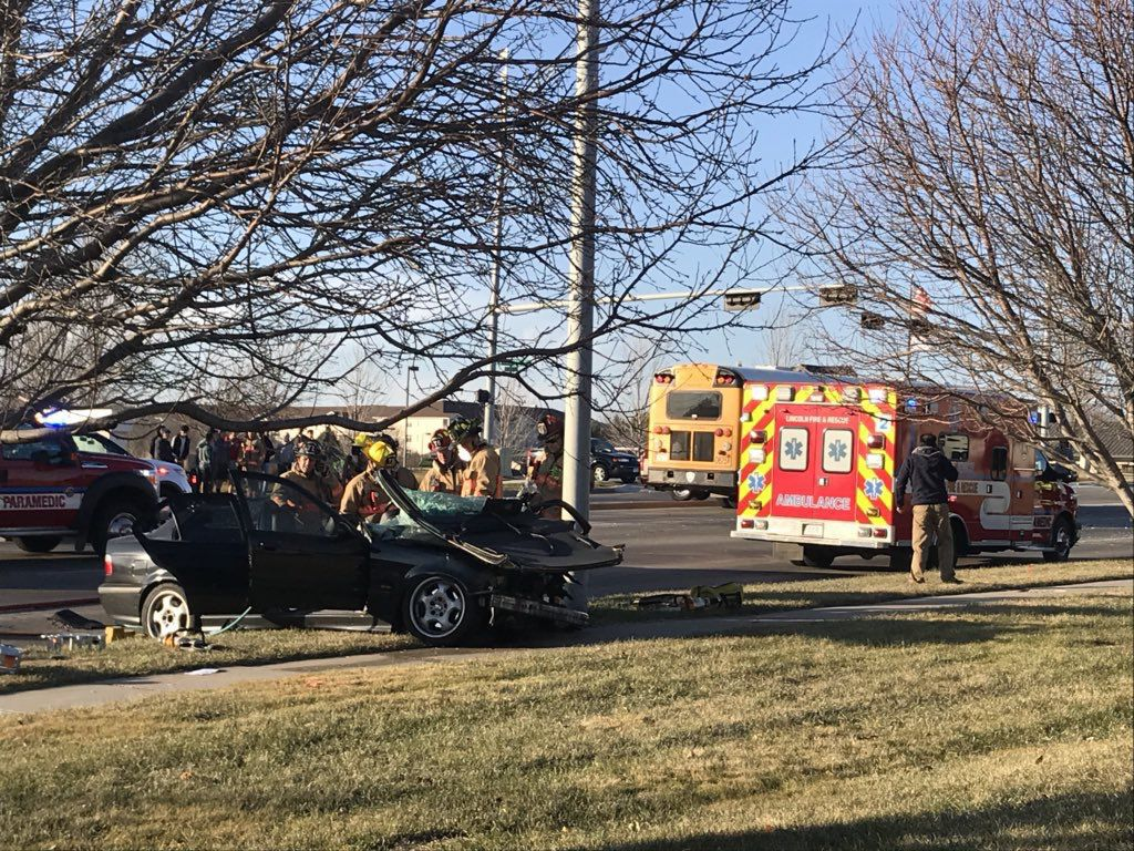 School Bus Involved In Multi Vehicle Crash Serious Injuries