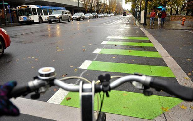 Hello Green Centennial Mall Bike Lane Design Gets Ok