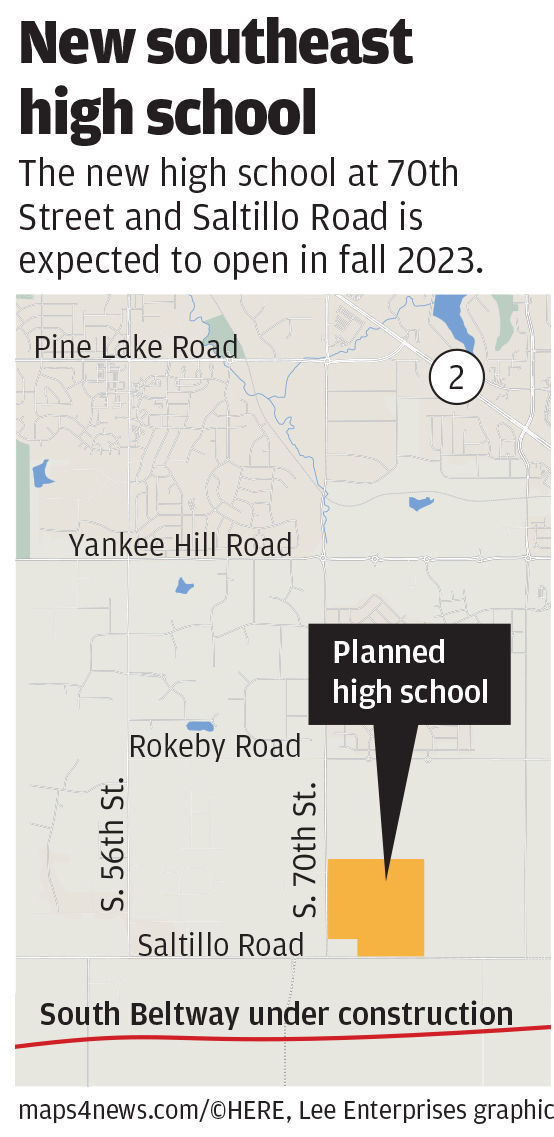New southeast high school map