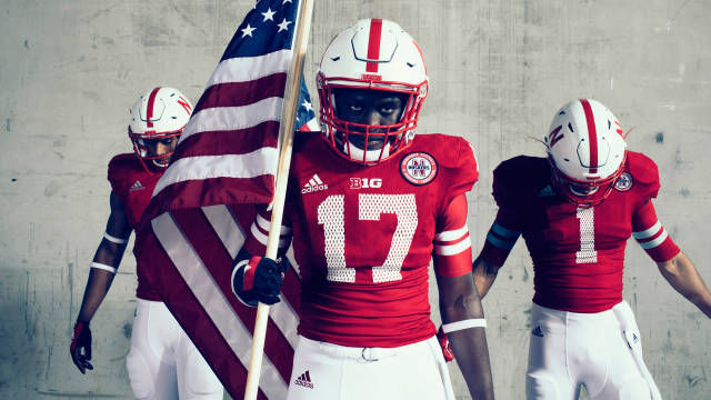 Huskers unveil alternate uniforms in homage to  97 team  1dda651bf