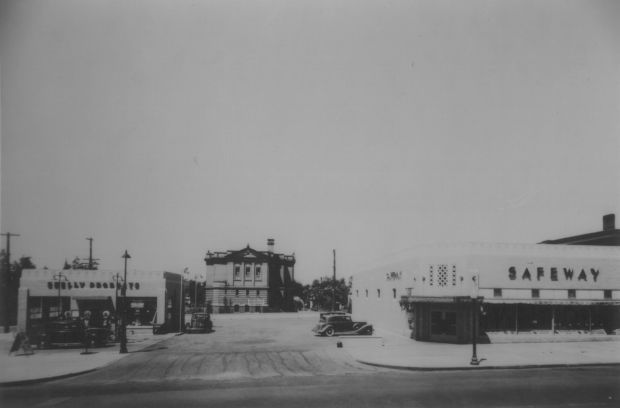 26th and O streets Lincoln, 1940