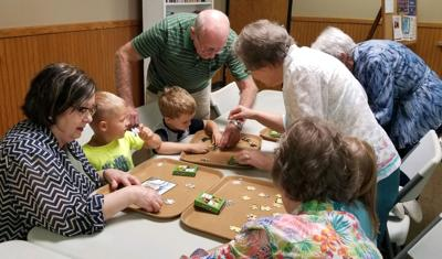 Seniors engage youngsters