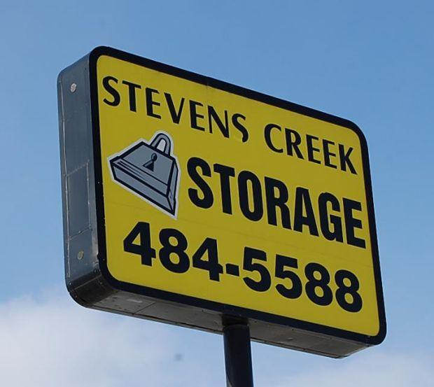 Stevens Creek Storage Sign