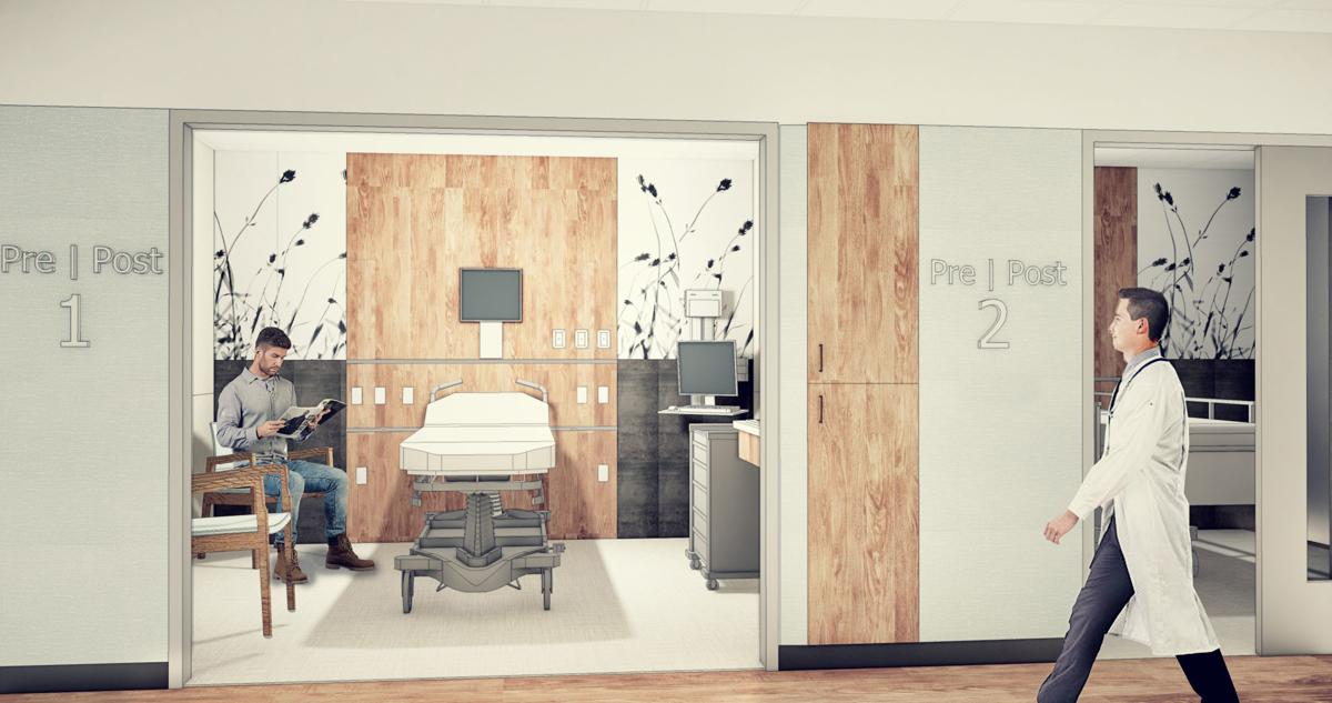 Patient Rooms to Prepare for and Recover from Surgery