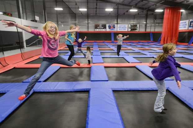 Defy Gravity Finally Brings Indoor Trampoline Park To