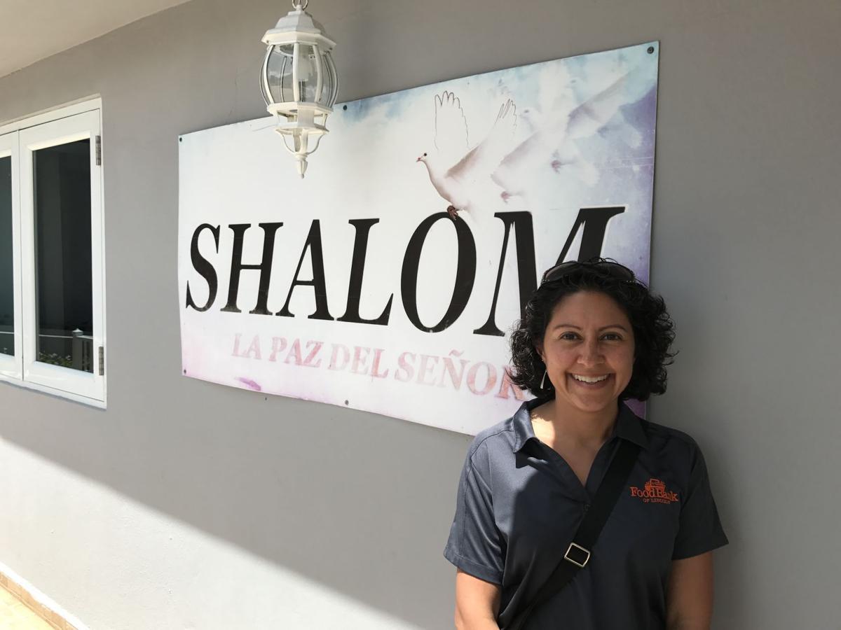 Mariana Schell at the Shalom agency in Puerto Rico