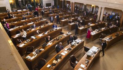 Legislature First Day