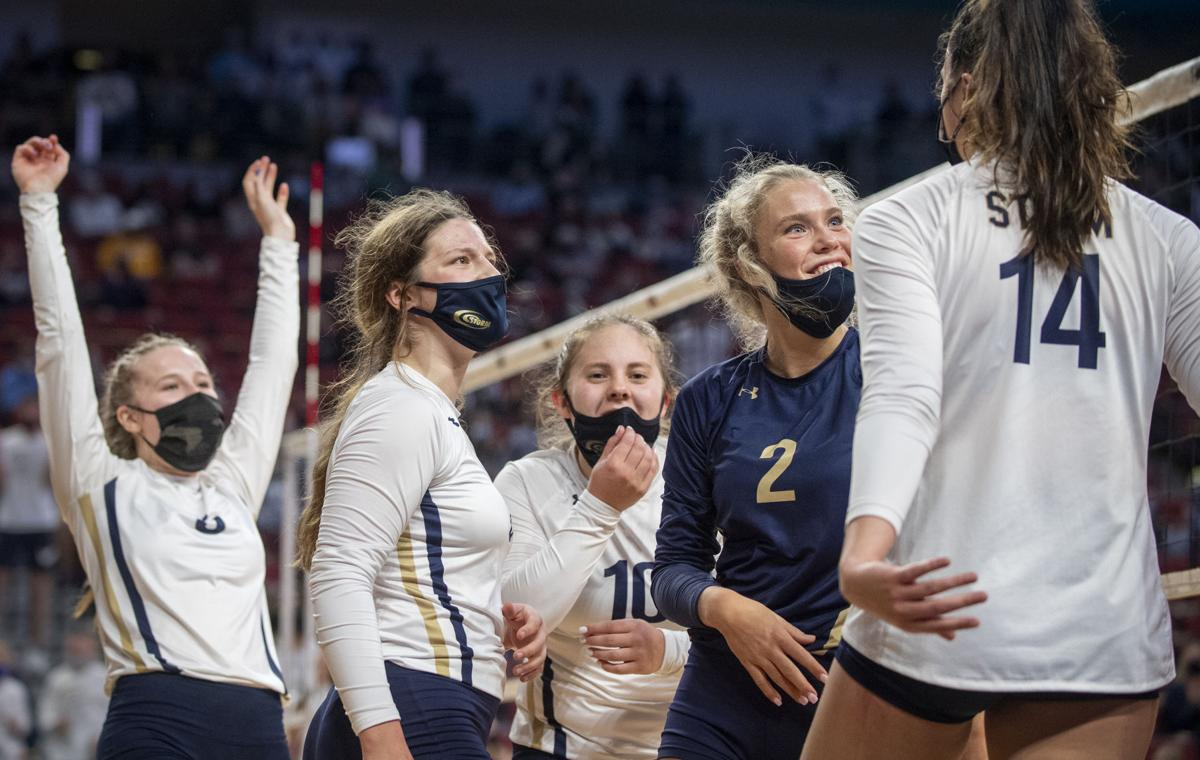 Class A state volleyball, 11.6