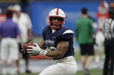separation shoes 8b836 9e5bf Ozigbo finds the end zone in East-West Shrine game ...