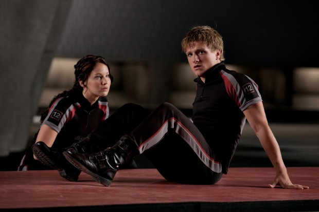 Film Review The Hunger Games Katniss-Peeta