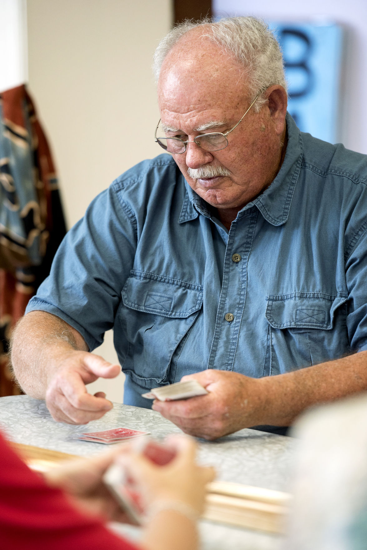 Cribbage league co-founder Krause finds friends wherever he goes