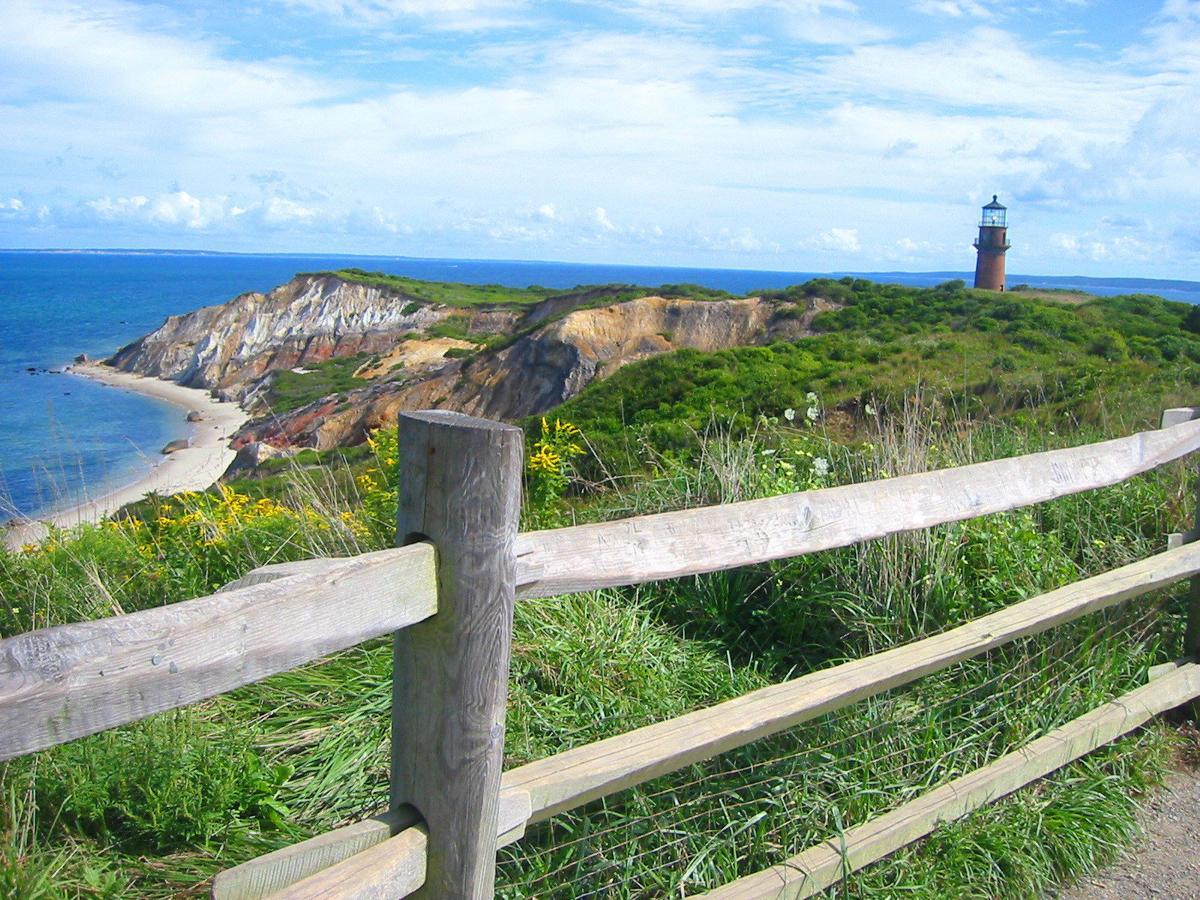 Gay Head Lighthouse at Aquinnah Cliffs