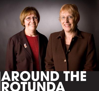 Around the Rotunda