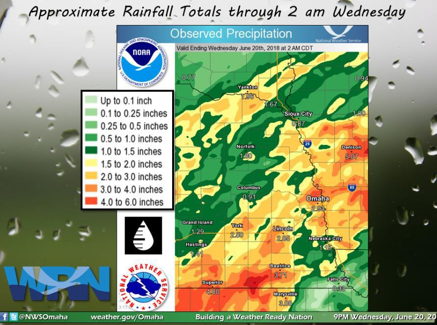 Lincoln sees more than 3 inches of rain; more showers in forecast | Journal Star