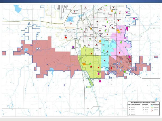 Proposed LPS middle school boundaries