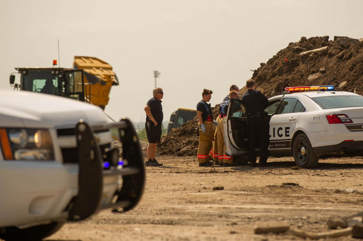Construction site accident, 08.11.2018