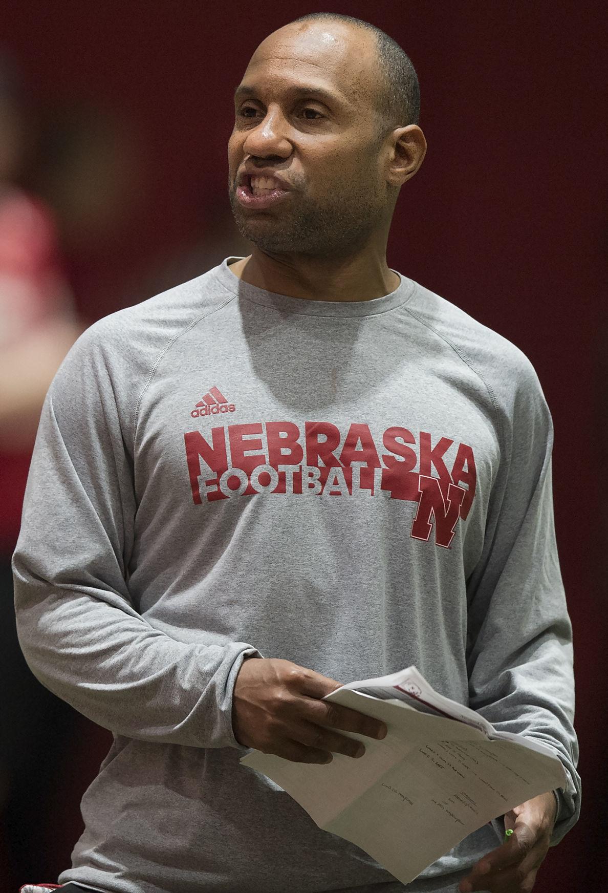 Nebraska football practice, 4/3