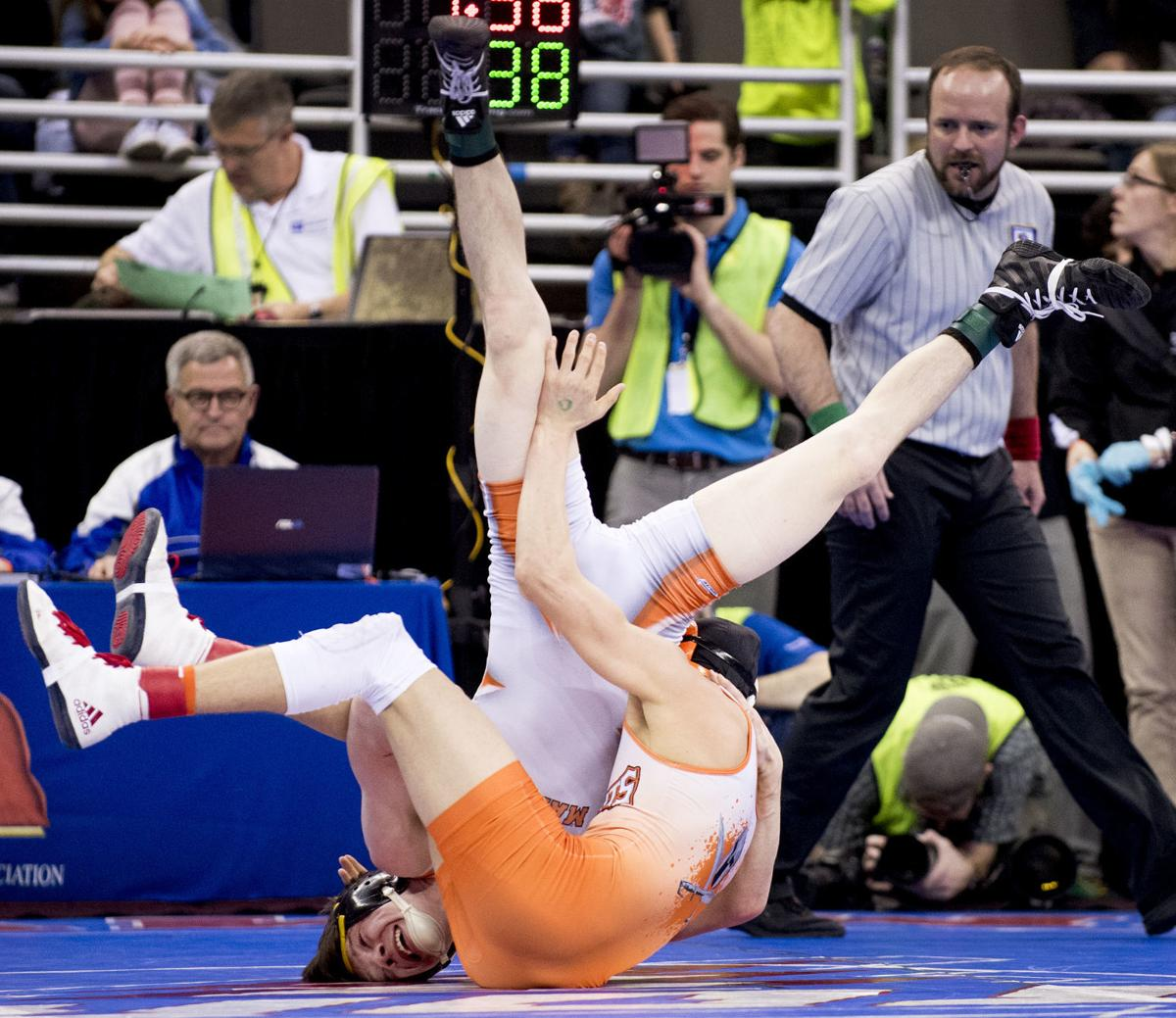 State Wrestling Four Time Challengers Enter Finals With Nothing To Lose High School Wrestling