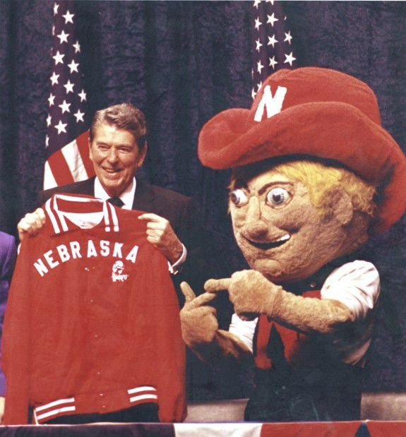 Ronald Reagan with Herbie