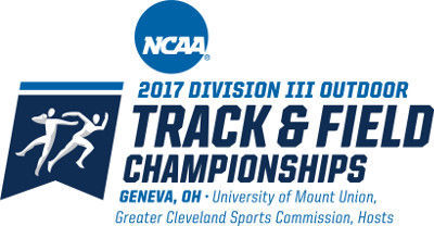 NCAA Division III track logo