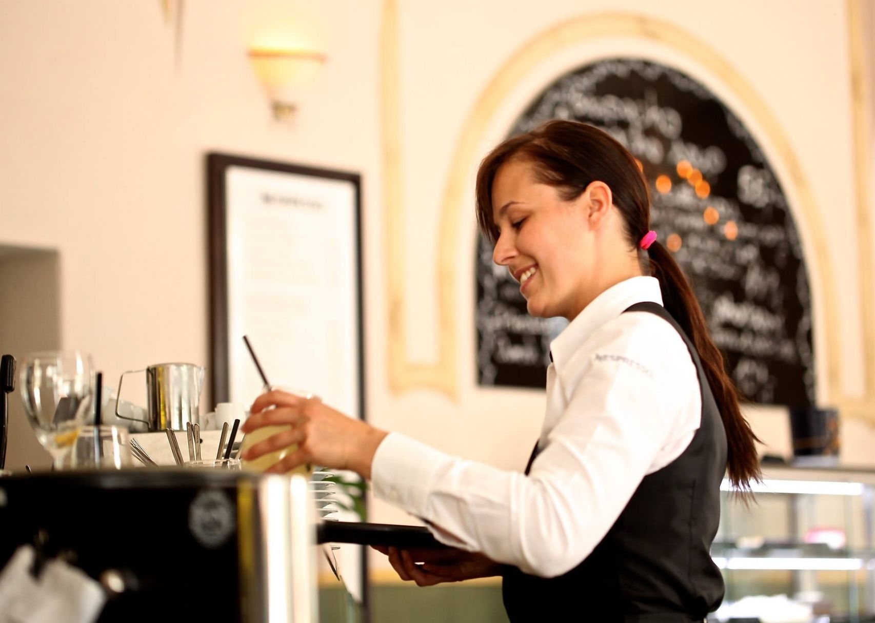 Restaurant server The 54 best paying places for