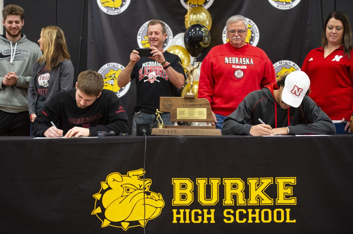 Omaha Burke signing ceremony, 12.19