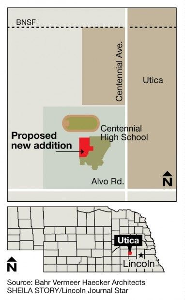 Centennial school map