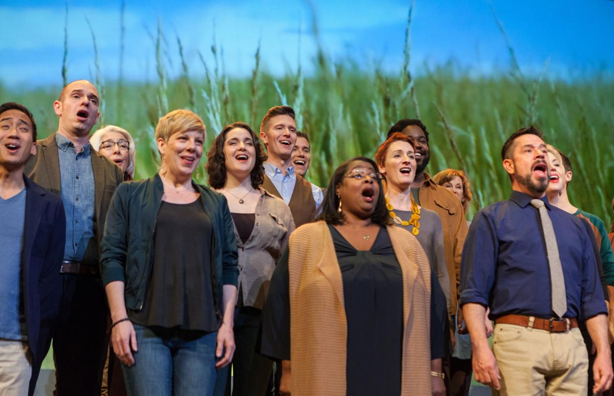 Grammy-winning choral group Conspirare