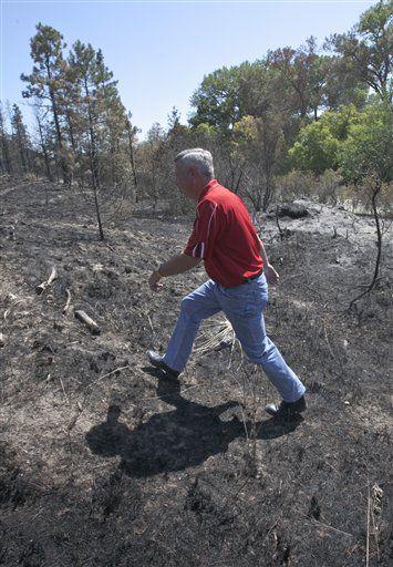 Dave Heineman at wildfire