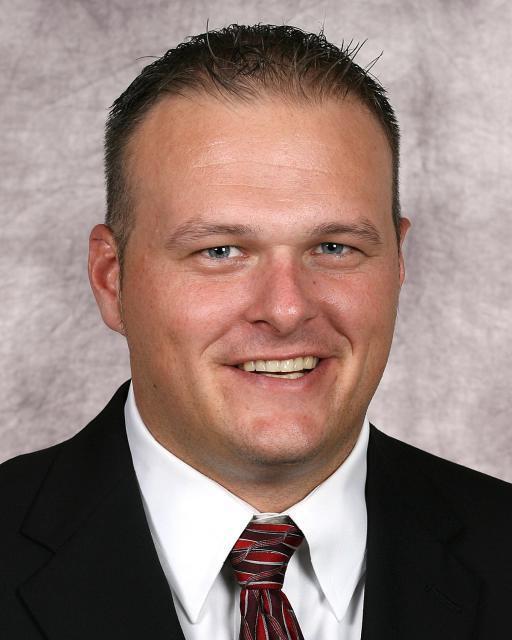 Curtis Ledbetter, NU baseball volunteer assistant