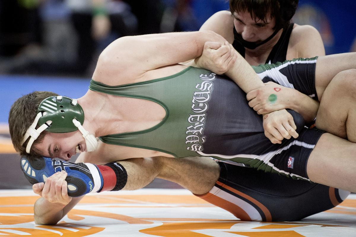 State wrestling semifinals, 2/17