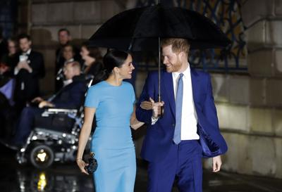 Britain Meghan and Harry